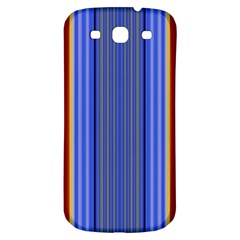 Colorful Stripes Background Samsung Galaxy S3 S III Classic Hardshell Back Case