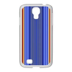 Colorful Stripes Background Samsung Galaxy S4 I9500/ I9505 Case (white)