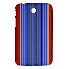 Colorful Stripes Background Samsung Galaxy Tab 3 (7 ) P3200 Hardshell Case