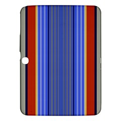 Colorful Stripes Background Samsung Galaxy Tab 3 (10.1 ) P5200 Hardshell Case