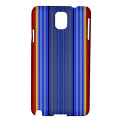 Colorful Stripes Background Samsung Galaxy Note 3 N9005 Hardshell Case