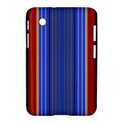 Colorful Stripes Background Samsung Galaxy Tab 2 (7 ) P3100 Hardshell Case