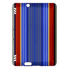 Colorful Stripes Background Kindle Fire HDX Hardshell Case