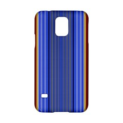 Colorful Stripes Background Samsung Galaxy S5 Hardshell Case