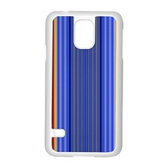 Colorful Stripes Background Samsung Galaxy S5 Case (white)