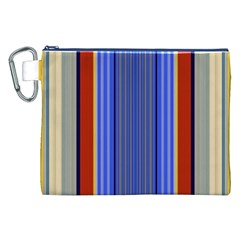Colorful Stripes Background Canvas Cosmetic Bag (XXL)