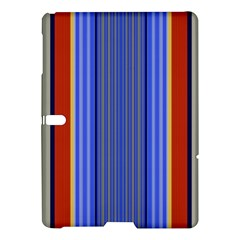 Colorful Stripes Background Samsung Galaxy Tab S (10 5 ) Hardshell Case