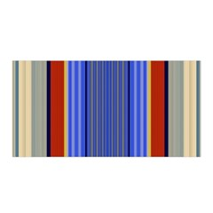 Colorful Stripes Background Satin Wrap