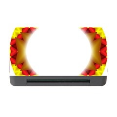 Circle Fractal Frame Memory Card Reader with CF