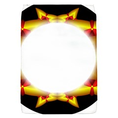 Circle Fractal Frame Flap Covers (S)