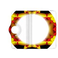 Circle Fractal Frame Kindle Fire HDX 8.9  Flip 360 Case