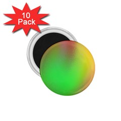 November Blurry Brilliant Colors 1.75  Magnets (10 pack)