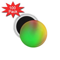 November Blurry Brilliant Colors 1 75  Magnets (100 Pack)