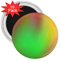 November Blurry Brilliant Colors 3  Magnets (10 Pack)