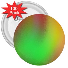 November Blurry Brilliant Colors 3  Buttons (100 Pack)