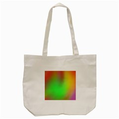 November Blurry Brilliant Colors Tote Bag (cream)