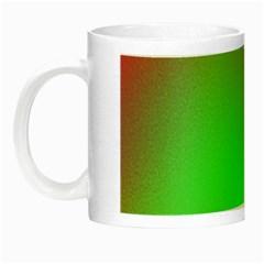 November Blurry Brilliant Colors Night Luminous Mugs