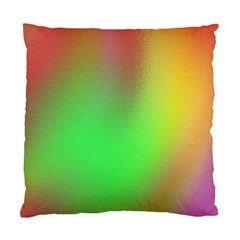 November Blurry Brilliant Colors Standard Cushion Case (two Sides)