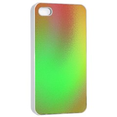November Blurry Brilliant Colors Apple Iphone 4/4s Seamless Case (white)