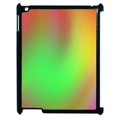 November Blurry Brilliant Colors Apple iPad 2 Case (Black)