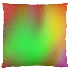 November Blurry Brilliant Colors Large Cushion Case (one Side)