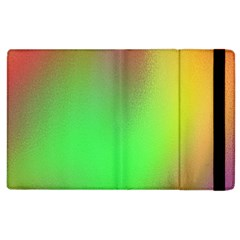 November Blurry Brilliant Colors Apple iPad 2 Flip Case