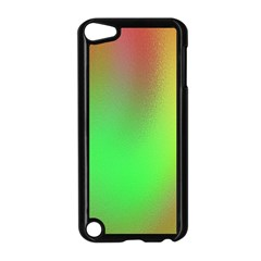 November Blurry Brilliant Colors Apple Ipod Touch 5 Case (black)