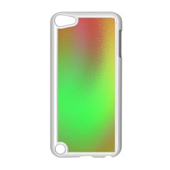 November Blurry Brilliant Colors Apple iPod Touch 5 Case (White)