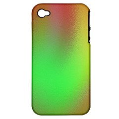 November Blurry Brilliant Colors Apple iPhone 4/4S Hardshell Case (PC+Silicone)