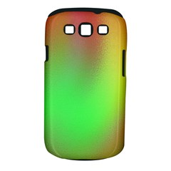 November Blurry Brilliant Colors Samsung Galaxy S III Classic Hardshell Case (PC+Silicone)