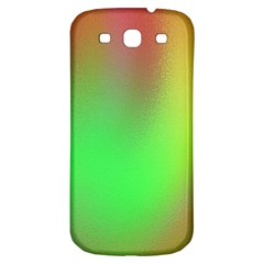 November Blurry Brilliant Colors Samsung Galaxy S3 S Iii Classic Hardshell Back Case
