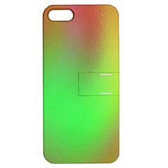 November Blurry Brilliant Colors Apple iPhone 5 Hardshell Case with Stand