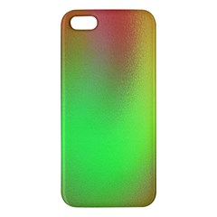 November Blurry Brilliant Colors Apple iPhone 5 Premium Hardshell Case