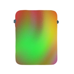 November Blurry Brilliant Colors Apple iPad 2/3/4 Protective Soft Cases