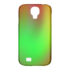November Blurry Brilliant Colors Samsung Galaxy S4 Classic Hardshell Case (PC+Silicone)