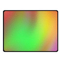 November Blurry Brilliant Colors Double Sided Fleece Blanket (Small)