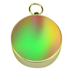 November Blurry Brilliant Colors Gold Compasses