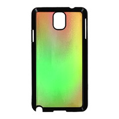 November Blurry Brilliant Colors Samsung Galaxy Note 3 Neo Hardshell Case (black)