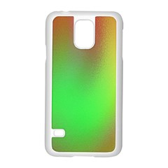 November Blurry Brilliant Colors Samsung Galaxy S5 Case (White)