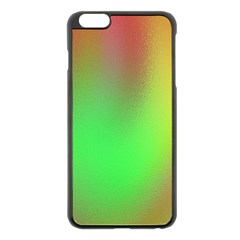 November Blurry Brilliant Colors Apple iPhone 6 Plus/6S Plus Black Enamel Case