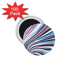 Wavy Stripes Background 1 75  Magnets (100 Pack)