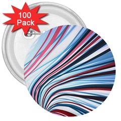 Wavy Stripes Background 3  Buttons (100 Pack)