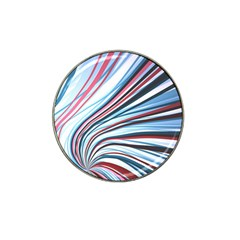 Wavy Stripes Background Hat Clip Ball Marker (10 pack)