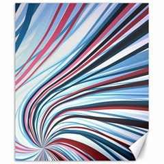 Wavy Stripes Background Canvas 20  X 24