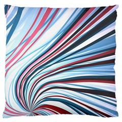 Wavy Stripes Background Large Cushion Case (Two Sides)