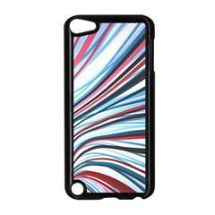 Wavy Stripes Background Apple iPod Touch 5 Case (Black)