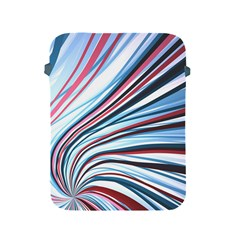 Wavy Stripes Background Apple Ipad 2/3/4 Protective Soft Cases