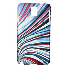 Wavy Stripes Background Samsung Galaxy Note 3 N9005 Hardshell Case