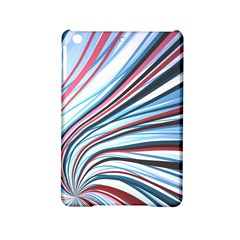 Wavy Stripes Background iPad Mini 2 Hardshell Cases