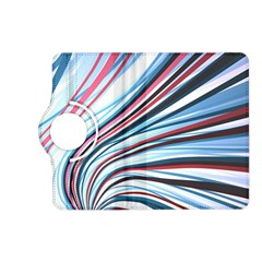 Wavy Stripes Background Kindle Fire Hd (2013) Flip 360 Case